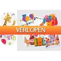 VoucherVandaag.nl: Diamond painting verjaardagskaarten