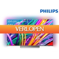 iBOOD.be: Philips 65 inch 4K UHD Android TV