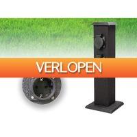 DealDonkey.com: Smartwares outdoor stroompaal stekkerpaal