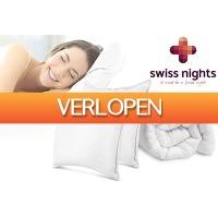 VoucherVandaag.nl: Swiss Nights dekbed + gratis hoofdkussen