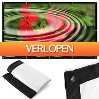 Uitbieden.nl: 72 inch opvouwbare projectiescherm