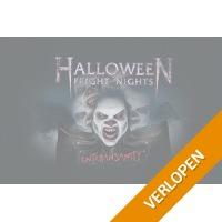 Veiling: Tickets Halloween Fright Nights in Walibi Holland (2 p.)