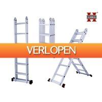 Groupdeal 2: Herzberg multifunctionele ladder