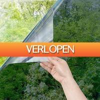 DealDigger.nl 2: Zelfklevend UV raamfolie met spiegeleffect