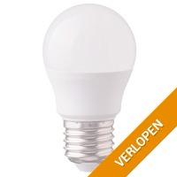 E27 LED Lamp 5,5 Watt Kogellamp G45 2700 K Vervangt 40 Watt