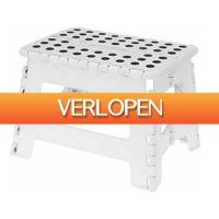 Grotekadoshop.nl: Opvouwbaar krukje wit