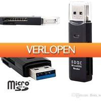 Uitbieden.nl: USB 3.0 High Speed Micro SD/SDXC kaartlezer
