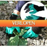 Uitbieden.nl 2: Universele tuin handschoenen met graafklauw