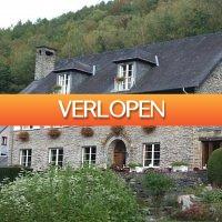D-deals.nl: 3 of 4 dagen in de Belgische Ardennen incl. culinair 4-gangendiner