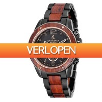 Watch2day.nl: Spinnaker Vessel Wood Chronographs SP-5027
