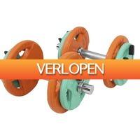 Befit2day.nl: Dumbellset 20 kg