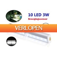 Dennisdeal.com: Sensor LED Lamp met ZELFKLEVENDE Magneetstrip