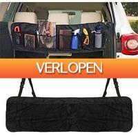 Uitbieden.nl 3: Multifunctionele auto achterbak/kofferbak organizer