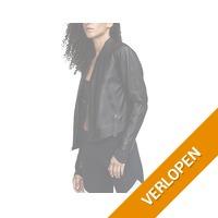 Under Armour Misty Leather Jacket-BLK