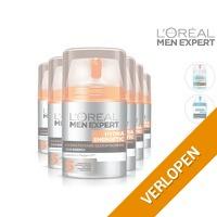 6 x L'Oreal Paris Skincare for Men