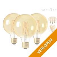 3 of 4 Moodzz Retro LED-lampen