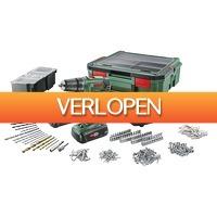 Karwei.nl: Bosch accu boormachine PSR1800 + SystemBox