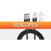 TipTopDeal.nl: PZOZ 5 A magnetische oplaadkabel