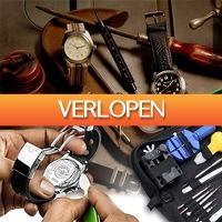 Slimmedealtjes.nl: 13-delige horloge reparatiekit