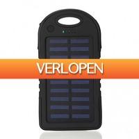 TipTopDeal.nl: Solar Powerbank 12000mAh