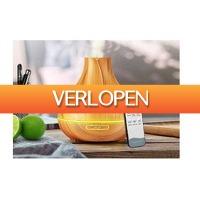 Dealwizard.nl: iBello aroma diffuser LED met afstandsbediening