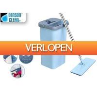 Dealwizard.nl: Benson Benson Clean flat mop dweil