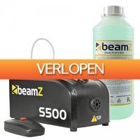 MaxiAxi.com: BeamZ S500 kunststof rookmachine
