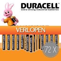 Slimmedealtjes.nl: 72 x Duracell Industrial AA of AAA batterijen