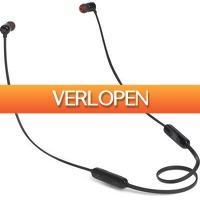 Expert.nl: JBL in-ear oordopjes T110BT zwart