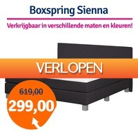 1dagactie.nl: Boxspring Sienna