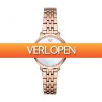 Dailywatchclub.nl: Emporio Armani AR11158 dameshorloge