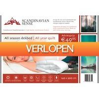 Voordeeldrogisterij.nl: Scandinavian Sense All Season Dekbed - 140 x 200 cm