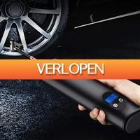 Slimmedealtjes.nl: Draadloze draagbare lucht compressor