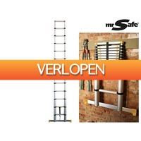 iBOOD DIY: Mr Safe telescopische ladder