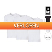 iBOOD Sports & Fashion: 3 x Ten Cate Organic Basic T-shirt