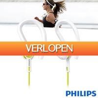 Wilpe.com - Elektra: Philips ActionFit sporthoofdtelefoon SHQ1400LF/00