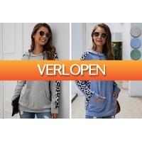 VoucherVandaag.nl: Comfortabele dames hoodie
