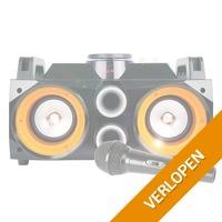 Fenton MDJ100 karaoke boombox