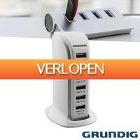 Wilpe.com - Elektra: Grundig USB-voedingsadapter 6A
