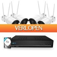 Epine.nl: Reolink RLK8-410B4-W 4MP draadloos camerasysteem