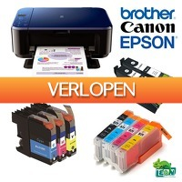 DealDigger.nl 2: Cartridges voor Brother, Canon en Epson printers