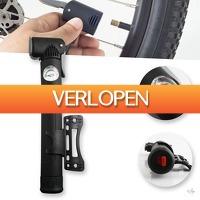 Wilpe.com - Tools: ABS mini fietspomp met drukmeter