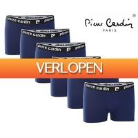 Telegraaf Aanbiedingen: 6-pack Pierre Cardin boxershorts