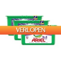 Tripper Producten: Ariel 3in1 pods Compact Color