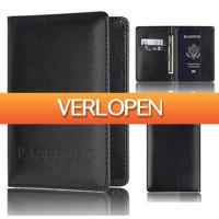 TipTopDeal.nl: Paspoort hoes met pasjeshouder