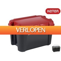 iBOOD Home & Living: 4 x Keter Totem opbergbox