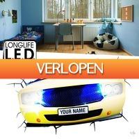 Wilpe.com - Elektra: 3D Muscle Car Light 3D LED Lamp