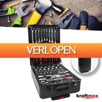 Wilpe.com - Tools: KraftMax 399-delige gereedschapstrolley