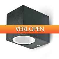 INTOLED: Vierkante buitenlamp LED