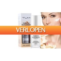 Groupon 3: Vloeibare foundation TLM 30 ml